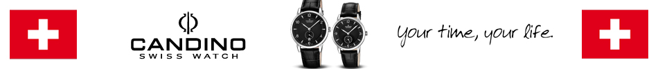 Montre Candino Swiss Made sur Gerbaud.fr